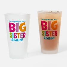 Big Sister Again Drinking Glass