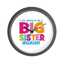 Big Sister Again Wall Clock