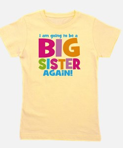 Big Sister Again Girl's Tee
