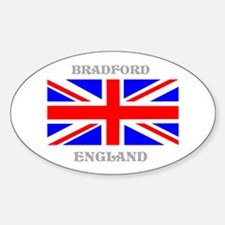 Bradford England Sticker (Oval)
