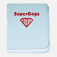 super_Gage.png baby blanket
