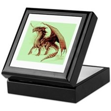 Brown Dragon Keepsake Box