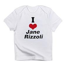 I Heart Jane Rizzoli 1 Infant T-Shirt