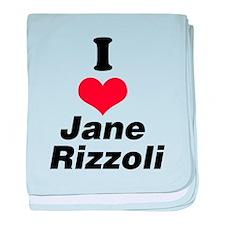 I Heart Jane Rizzoli 1 baby blanket