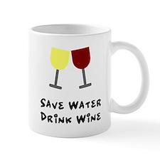 Save water drink wine Mug