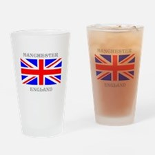 Manchester England Drinking Glass