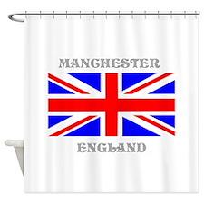 Manchester England Shower Curtain