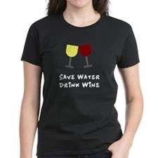 Save water drink wine Tee