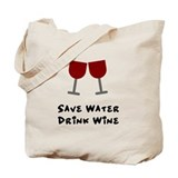 Wine Canvas Totes