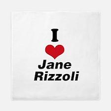 I Heart Jane Rizzoli 1 Queen Duvet