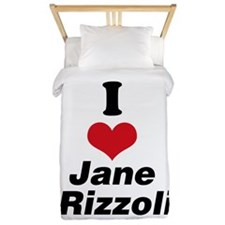 I Heart Jane Rizzoli 1 Twin Duvet