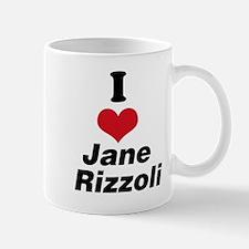 I Heart Jane Rizzoli 1 Mug