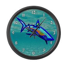 Pool Shark Large Wall Clock
