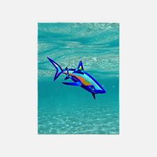 Pool Shark 5'x7'Area Rug