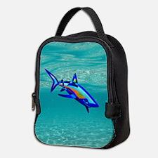 Pool Shark Neoprene Lunch Bag