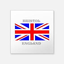 "Bristol England Square Sticker 3"" x 3"""