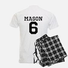 Dominik Mason #6 men's pajamas