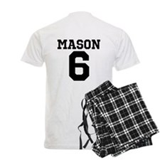 Dominik Mason #6 men's pajamas
