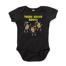 Third Grade Rocks Baby Bodysuit