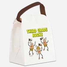 Third Grade Rocks Canvas Lunch Bag