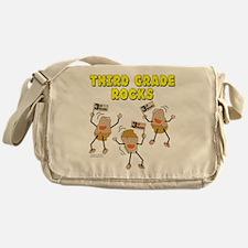 Third Grade Rocks Messenger Bag
