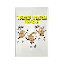 Third Grade Rocks Rectangle Magnet