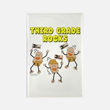 Third Grade Rocks Rectangle Magnet