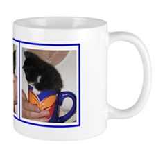 Coffee Cup Kitten Mug