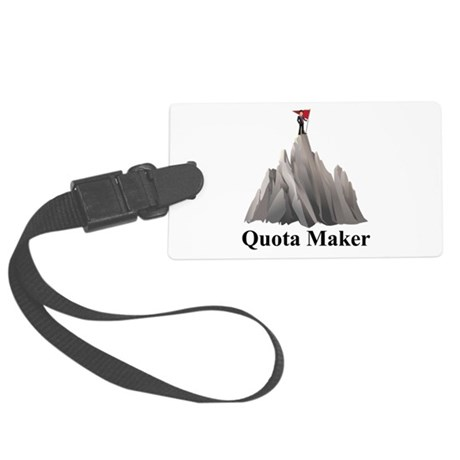 Men's Quota Maker Large Luggage Tag