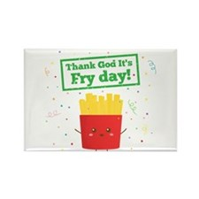 Thank God It's Fry Day! with Cute French Fries Rec