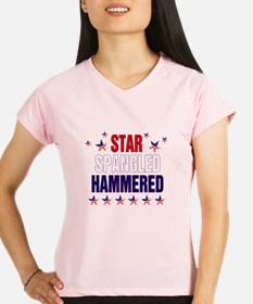 Cute Star spangled hammered Performance Dry T-Shirt