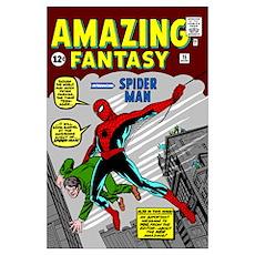 Amazing Fantasy (Introducing Spider Man) Poster