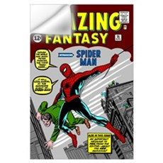 Amazing Fantasy (Introducing Spider Man) Wall Decal