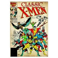 Classic X-Men Framed Print