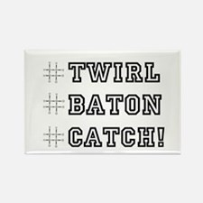Hashtag Twirl Rectangle Magnet (10 pack)