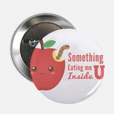 Eating me up inside - Cute Red Apple with Worm 2.2