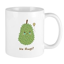 Sad Durian that gets no hugs Small Mug