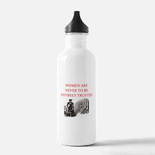 sherlock holmes quote Water Bottle