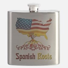 American Spanish Roots Flask