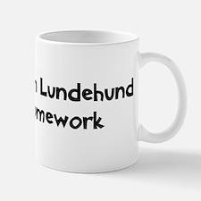 Norwegian Lundehund ate my ho Mug