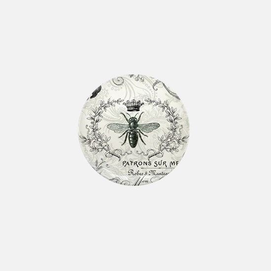 Vintage french shabby chic queen bee collage Mini