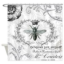 Vintage french shabby chic queen bee collage Showe