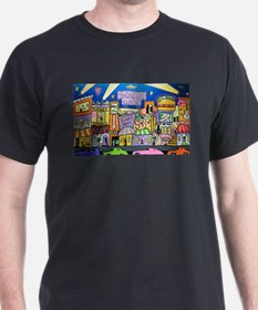 Design #32 SOuth Beach Miami Nightlife T-Shirt