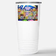 Design #32 SOuth Beach Miami Nightlife Travel Mug