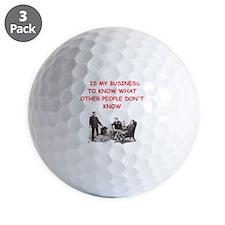 sherlock holmes quote Golf Ball