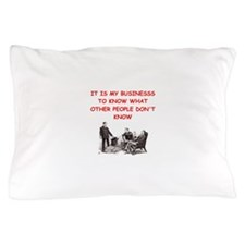sherlock holmes quote Pillow Case
