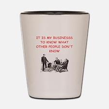 sherlock holmes quote Shot Glass
