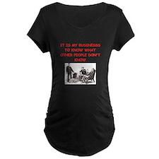 sherlock holmes quote Maternity T-Shirt
