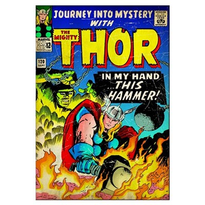 Journey Into Mystery With The Mighty Thor (In My H Framed Print