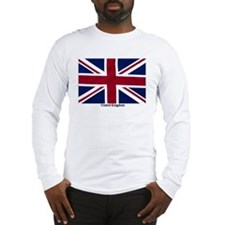 Union Jack Flag Long Sleeve T-Shirt